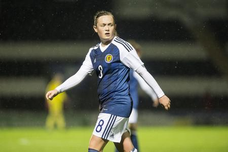 Cuthbert was in action for Scotland at this summer's World Cup
