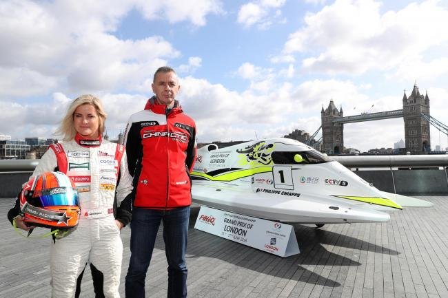 Powerboating stars launch UIM F1H2O Grand Prix in London (photo credit:Getty Images/Chris Lee)