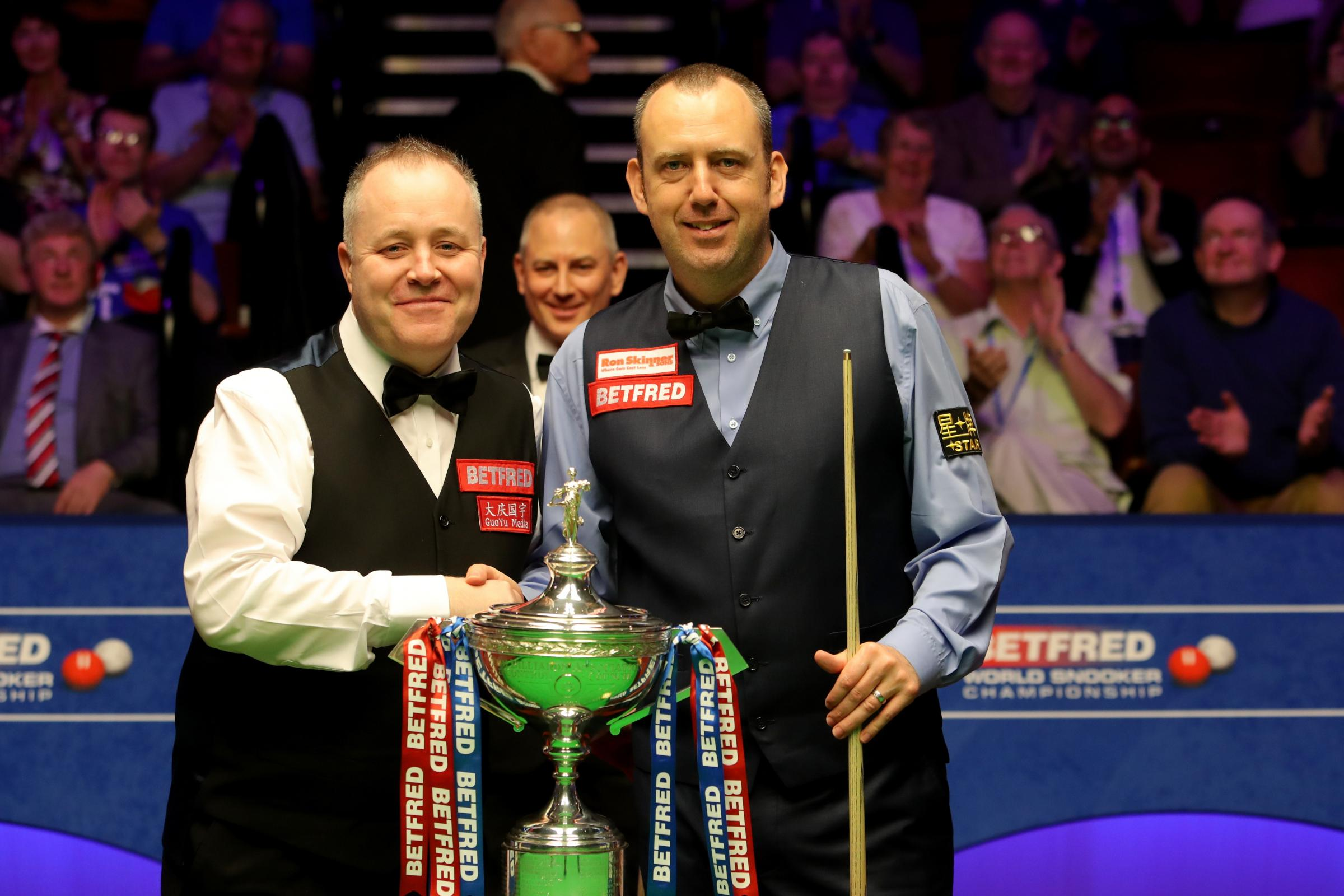 Image result for Mark Williams beats John Higgins to Win Third World Championship Title