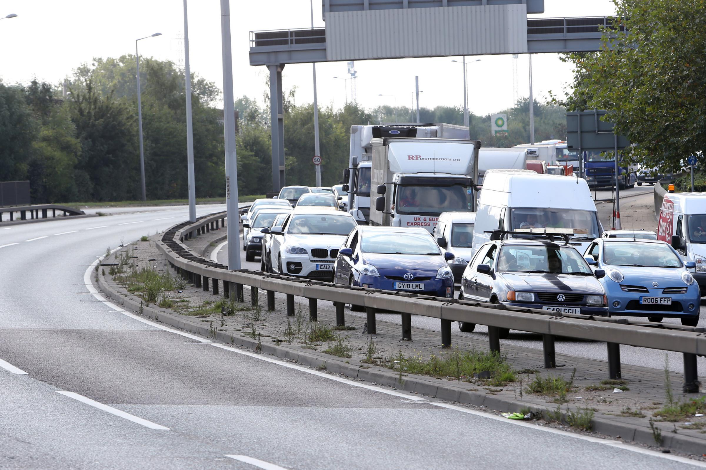 Watch out for delays on the A1 and A406 on your commute home today