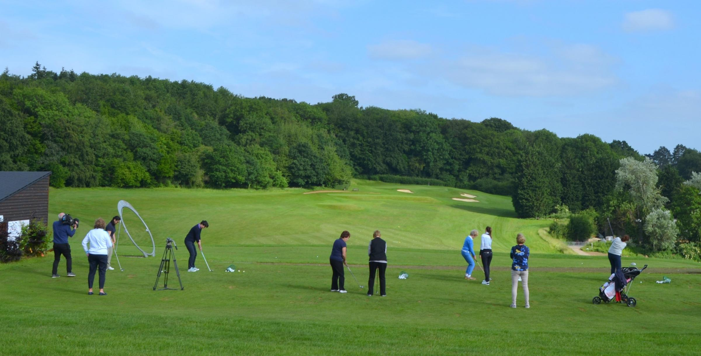 International Women's Golf Day Celebrations at Harewood Downs GC