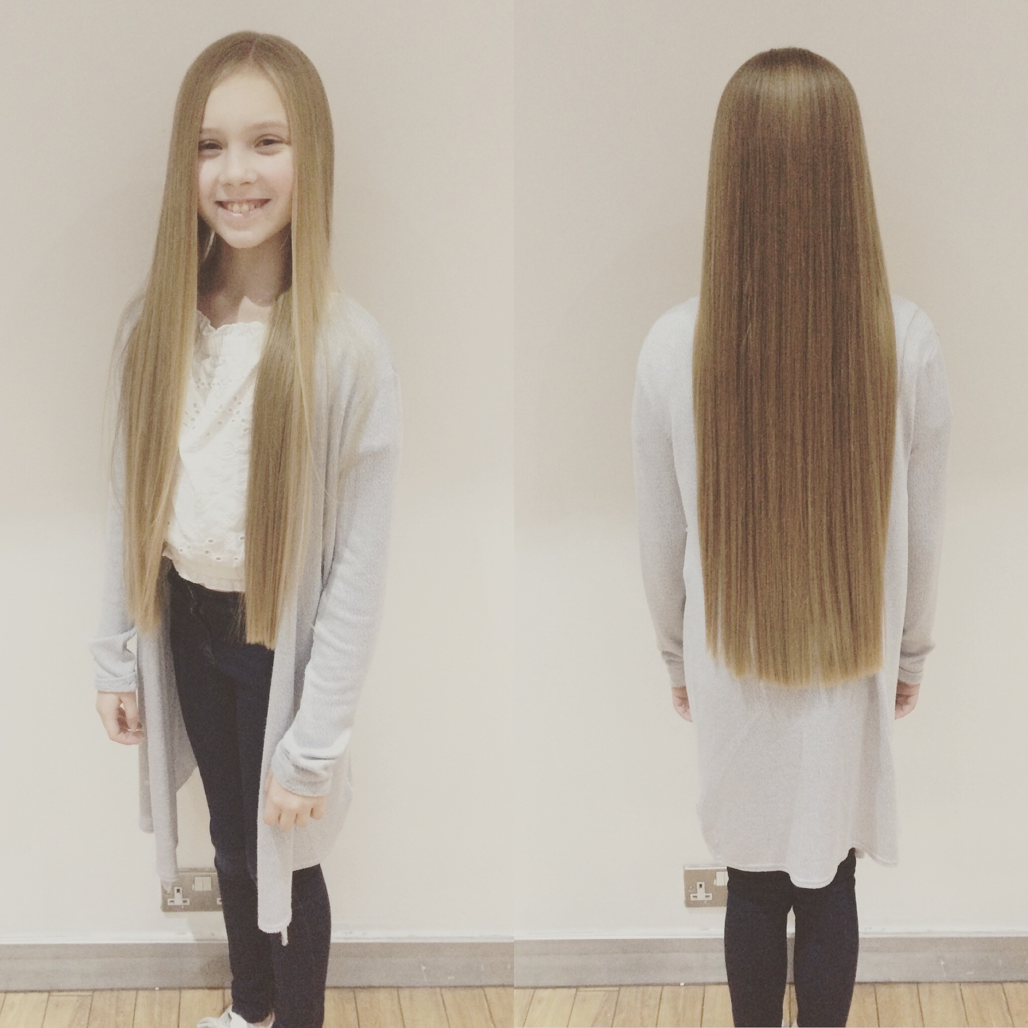 Schoolgirl cuts off 15 inches of own hair to raise money for charity