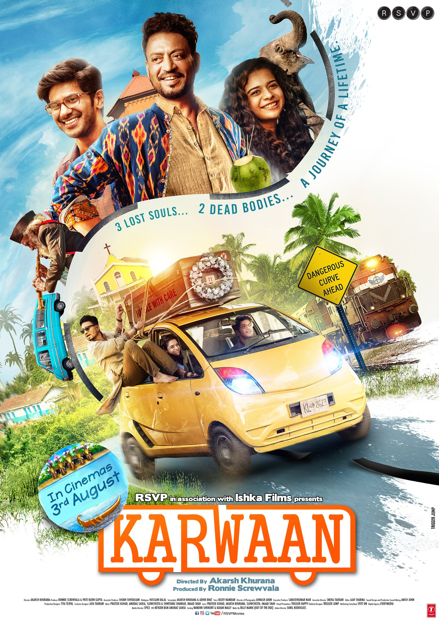 The Journey of a Lifetime: Love, Life & Redemption Await In KARWAAN, Releasing 3rd August 2018