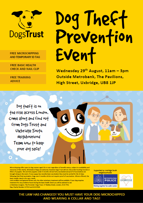 Dog Theft Awareness Events