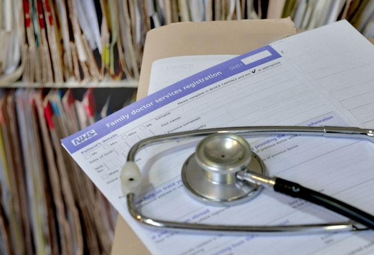 The number of GP complaints has been recorded