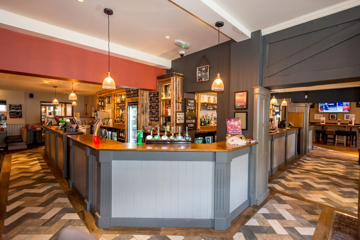 Stylish: new look for the Railway Hotel