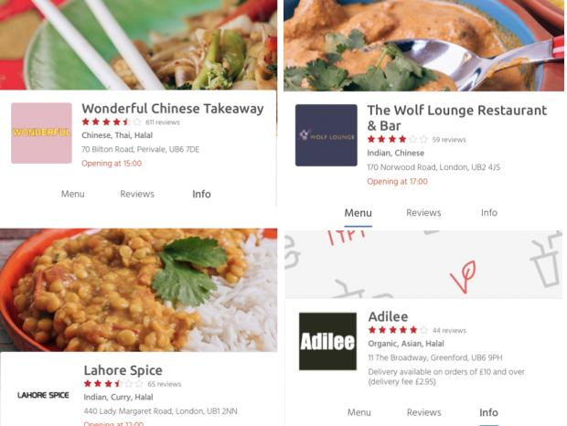 Investigation Zero Rated Ealing Restaurants Still Listed On