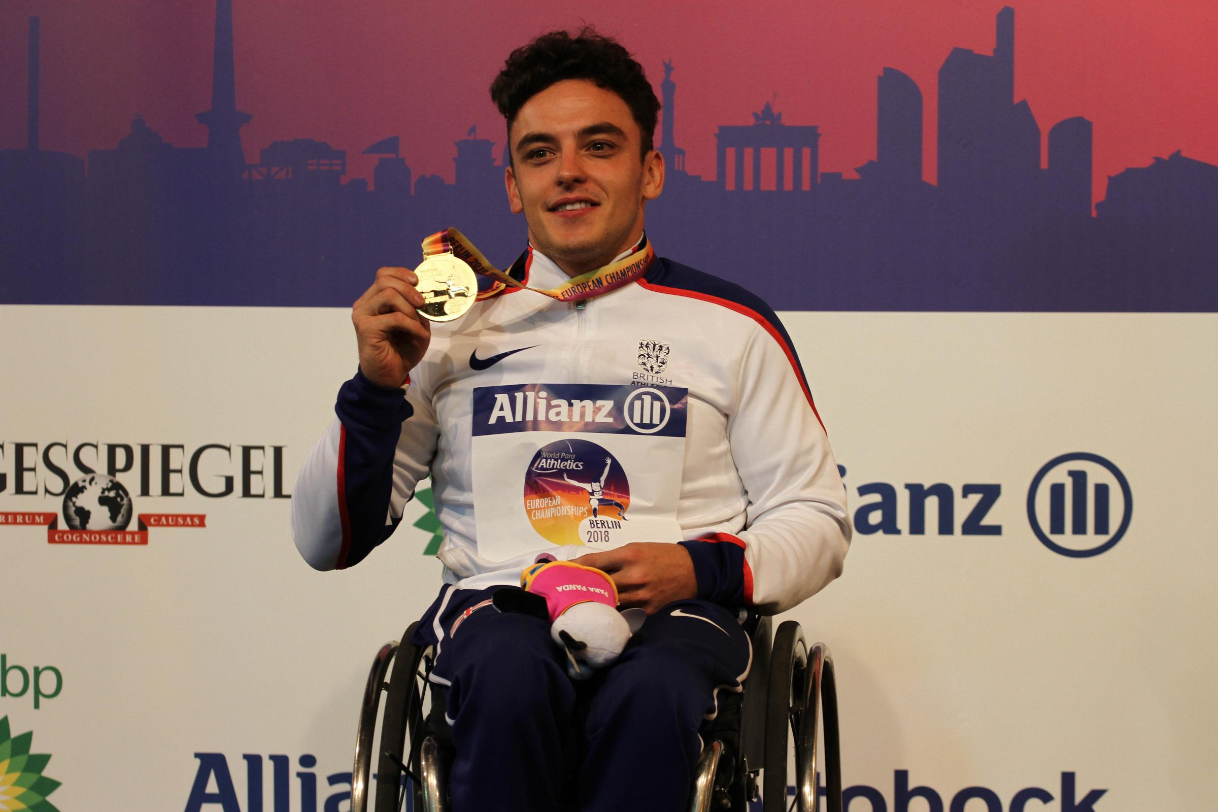 Harri Jenkins is up for the SportsAid One-to-Watch award