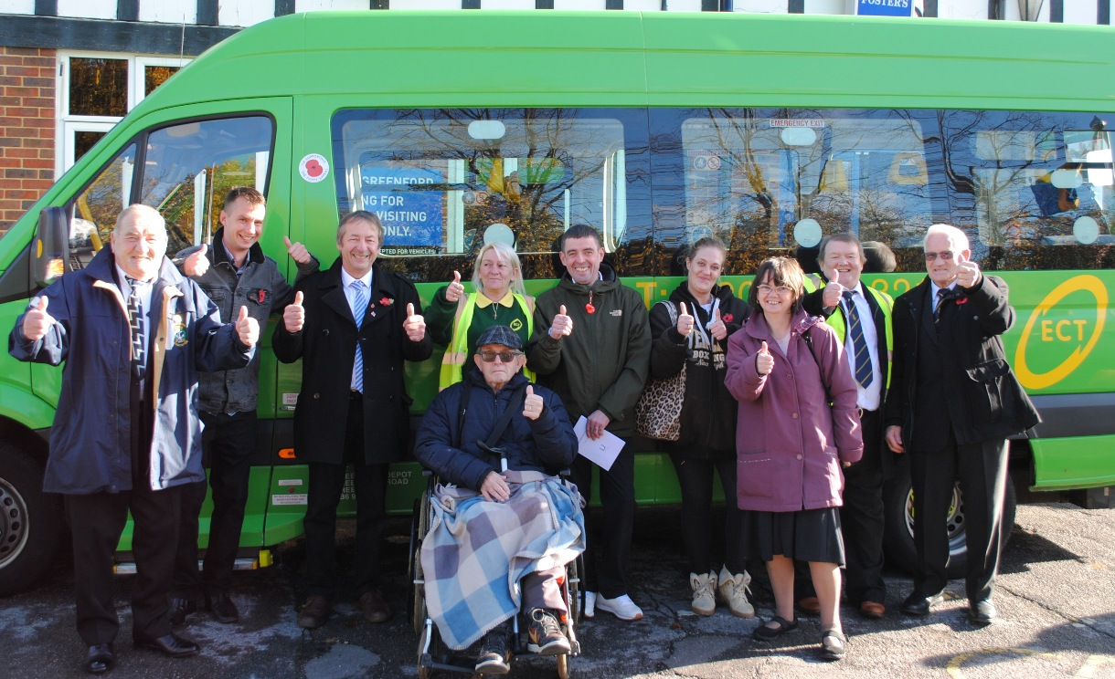 Why a minibus joined Greenford Remembrance parade