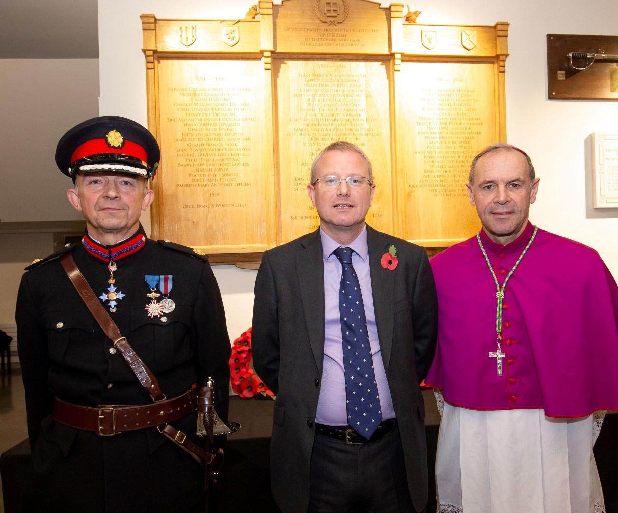 New war memorial unveiled at Ealing school
