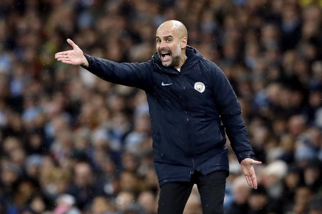 1fadc3ac54705 Pep Guardiola defended his team selection after Manchester City were beaten  by Crystal Palace