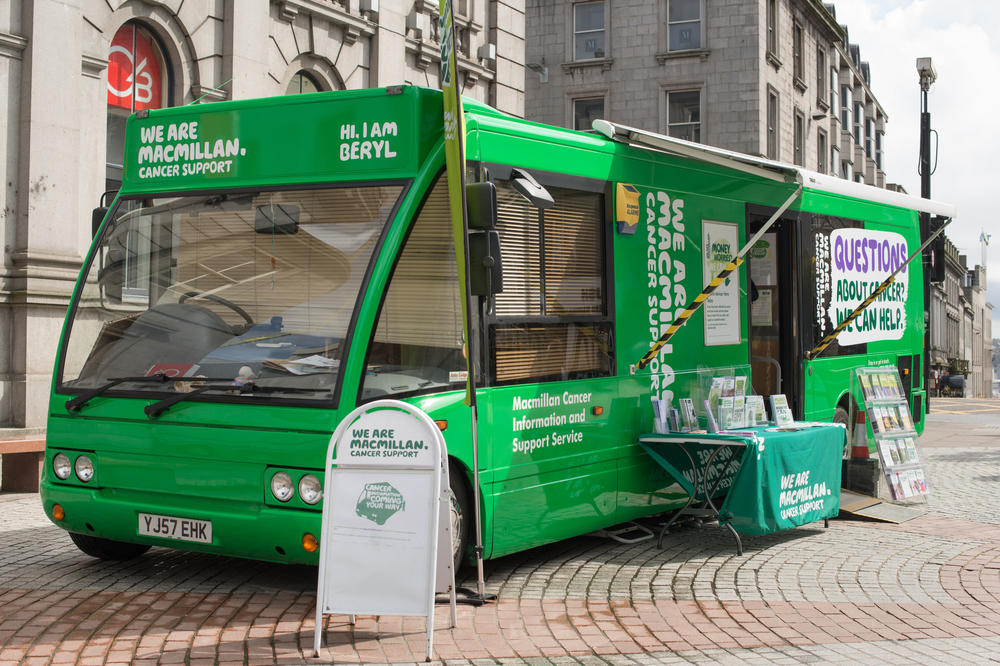 Macmillan Cancer Support Information Service in Aylesbury