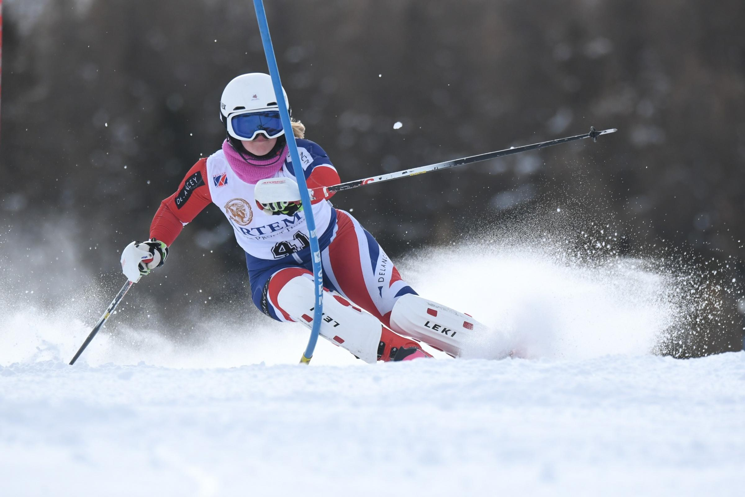 Bruce will follow in the footsteps of Dave Ryding when she returns to the English Alpine Skiing Championships
