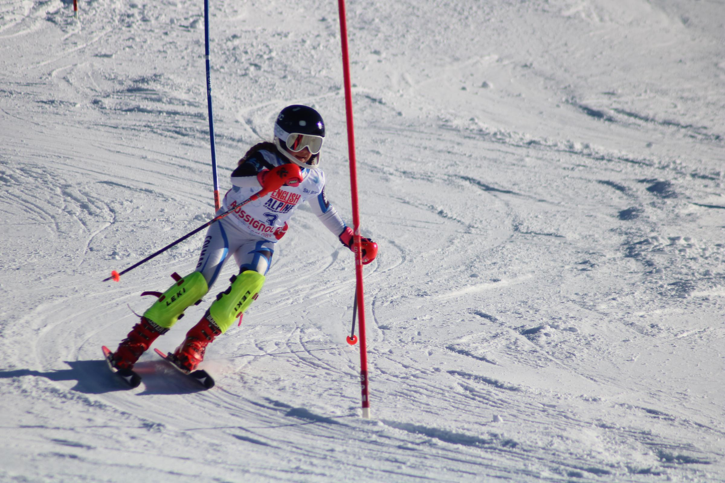 Despite a third-place finish in the Super-G last year, the 13-year-old speed-demon was not satisfied with her performance in Bormio