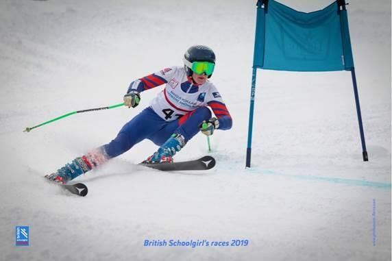 Snow shoe on the other foot for youngster at English Alpine Skiing Championships