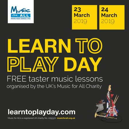 Learn to Play Day is coming to Buckinghamshire