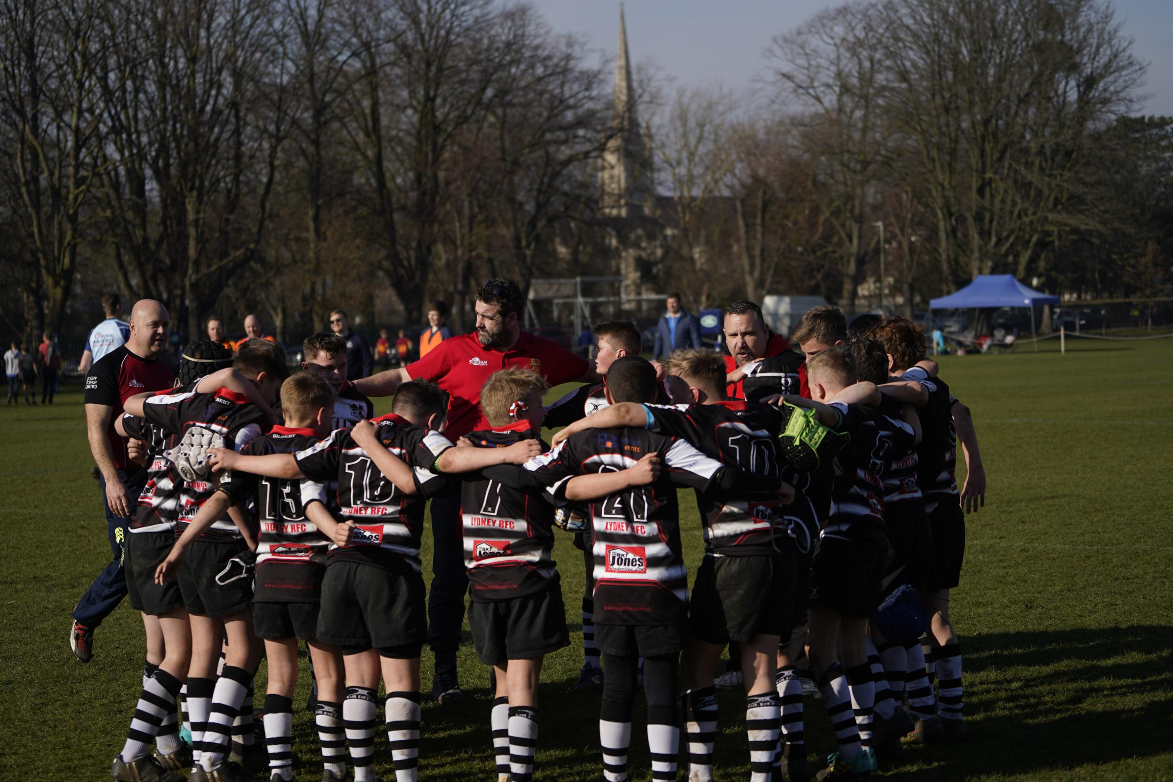 Lydney will join a whole hosts of teams at Twickenham on Premiership Final day
