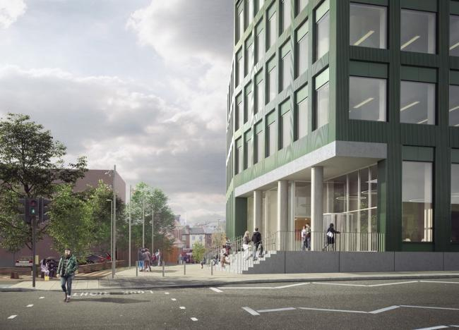 Plans for Harrow's new civic centre (pictured) were put on hold due to the Covid-19 pandemic (Photo: Harrow Council)