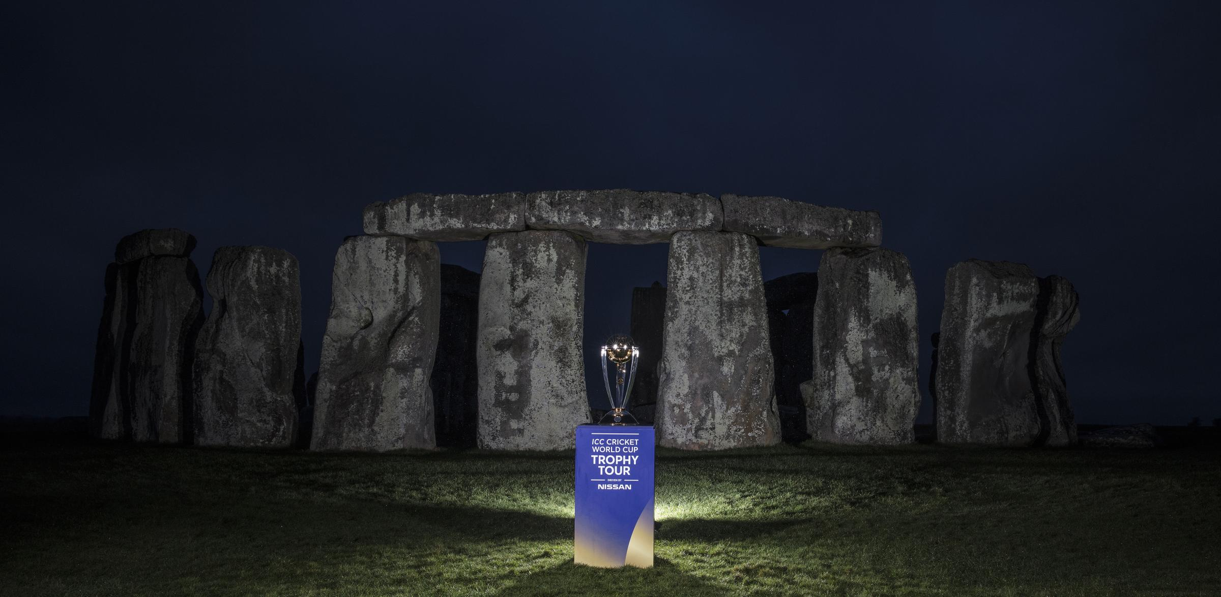 Wiltshire was chosen as a location for the ICC Cricket World Cup Trophy Tour, driven by Nissan, in light of the rousing success of Wiltshire Council's Big Pledge Challenge.