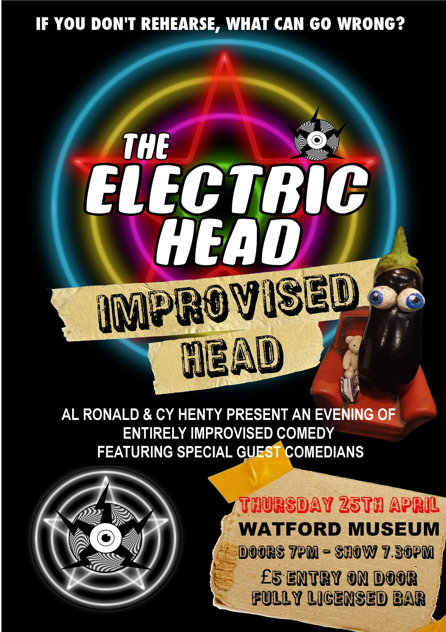 The Electric Head present: Improvised Head