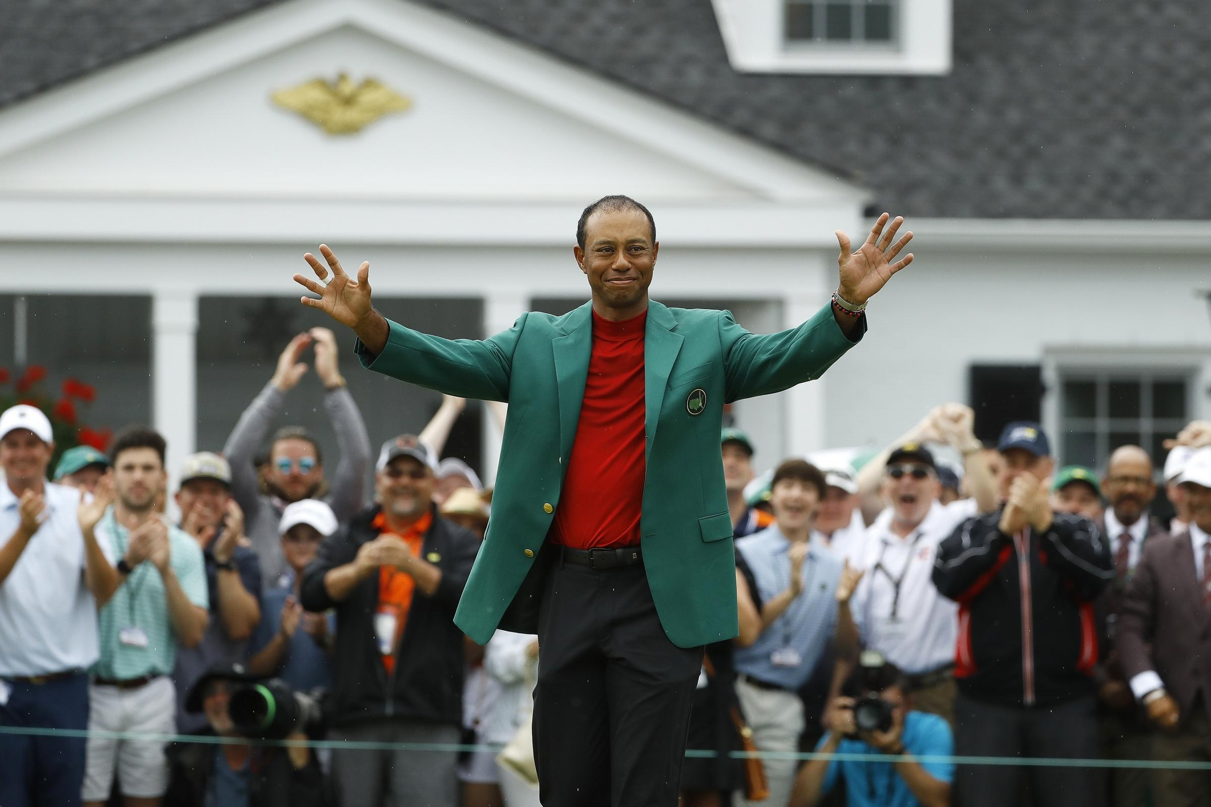 Tiger Woods has won five Masters titles