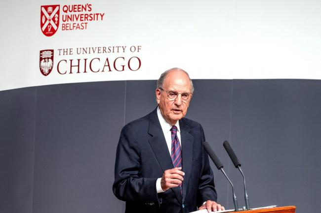 US senator George Mitchell
