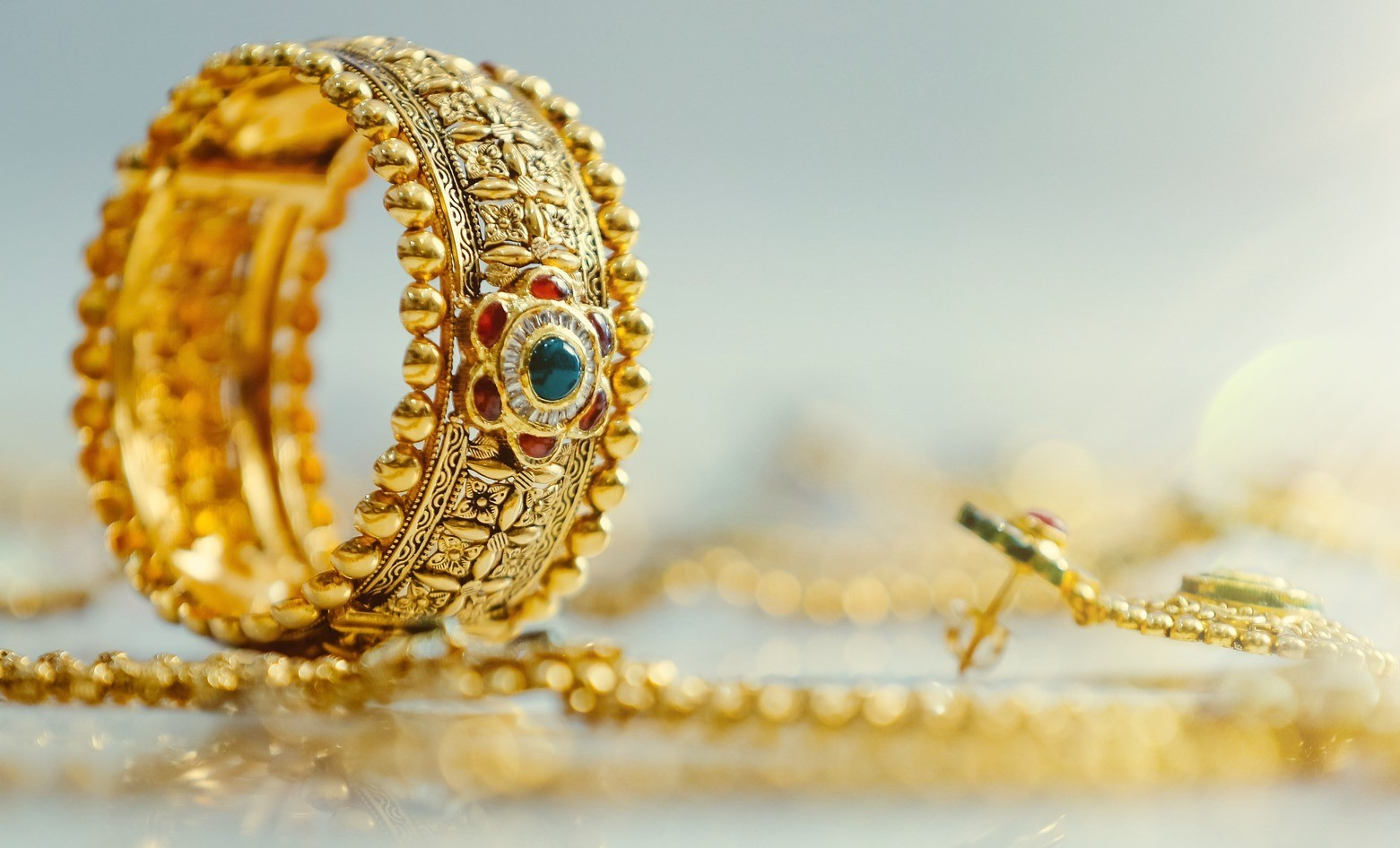 Gold jewellery is a popular draw for criminals