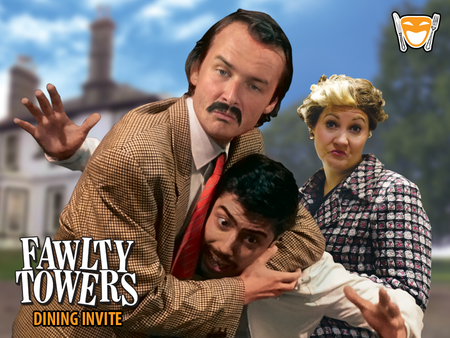 Fawlty Towers Dinner Show Holiday Inn Milton Keynes East 6th September