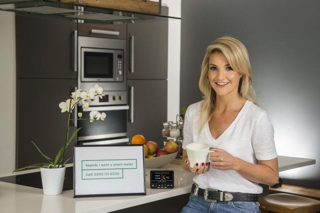 Future: Helen Skelton recently joined forces with Smart Energy GB to launch Areas for a Beautiful Future, which celebrates parts of Britain creating a more sustainable future