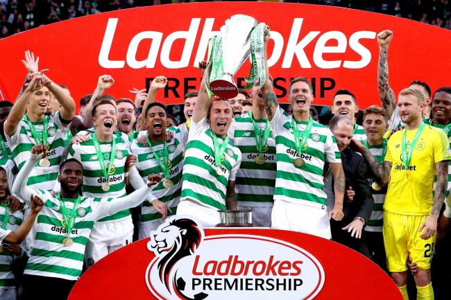 Celtic v Heart of Midlothian – Ladbrokes Scottish Premiership – Celtic Park