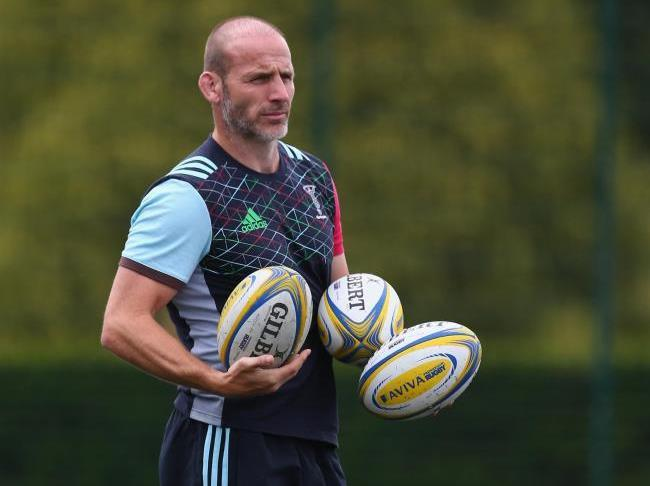 Harlequins director of rugby Paul Gustard