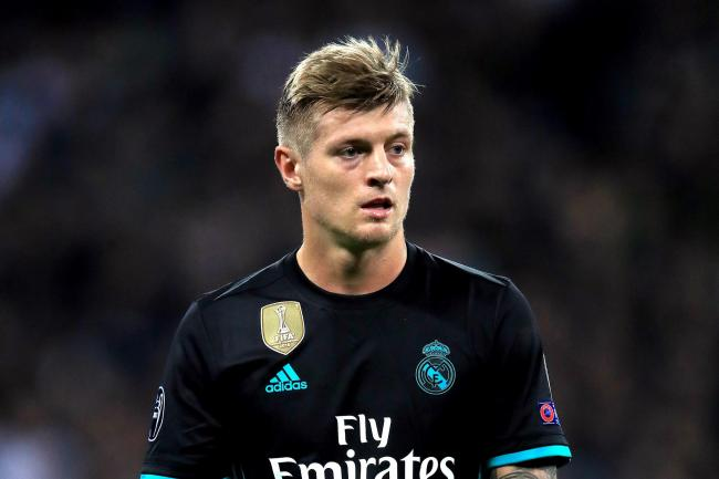 Toni Kroos is staying with Real Madrid
