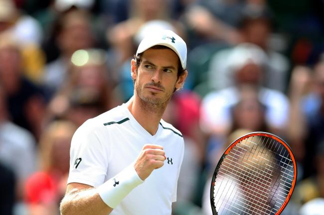 Andy Murray is hopeful of returning to competitive tennis