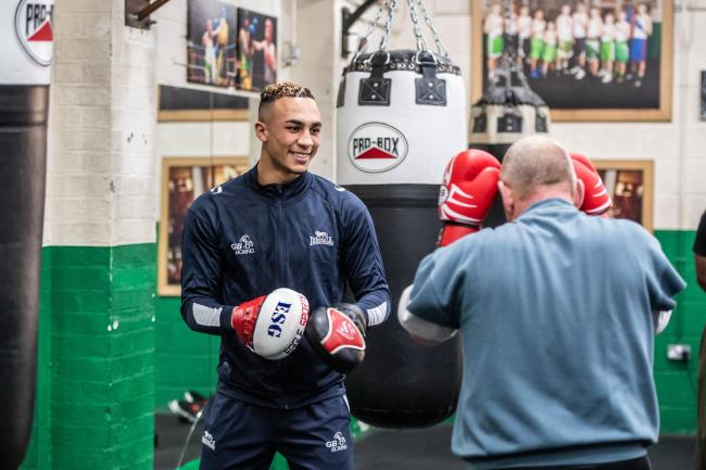 Boxer Whittaker praises impact of National Lottery in local community
