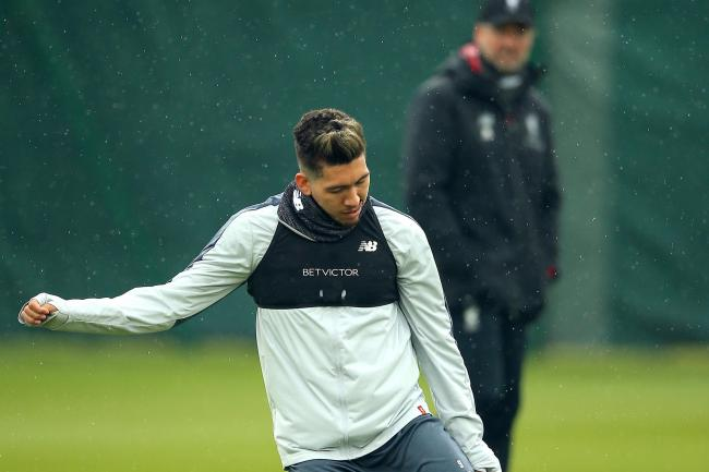 Roberto Firmino has given Liverpool a Champions League final boost by returning to training