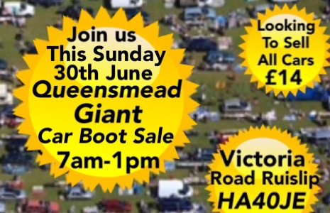 Queensmead Giant Sunday Car Boot Sale