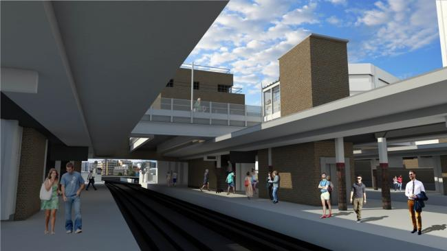 Plans for the new station