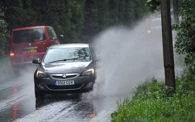 Met Office has put in place an amber warning for rain